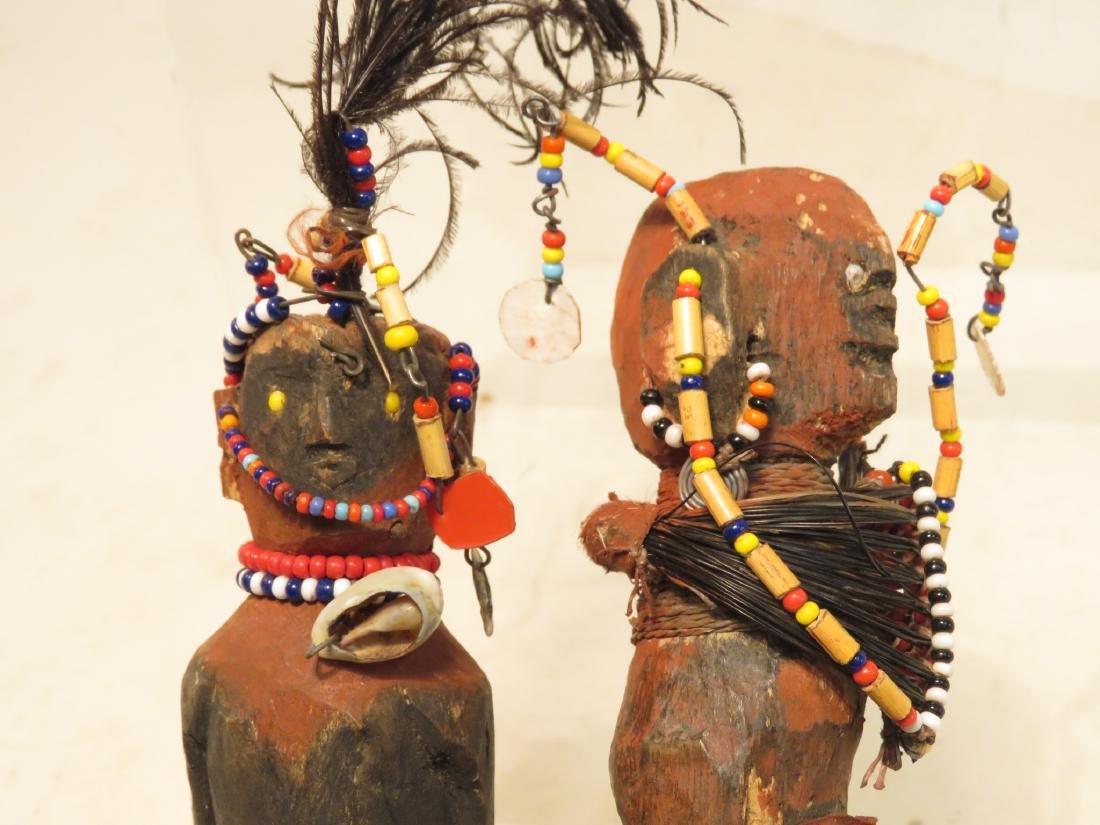 ASSORTED CONGO AFRICAN DECORATIVES ETC. - 3