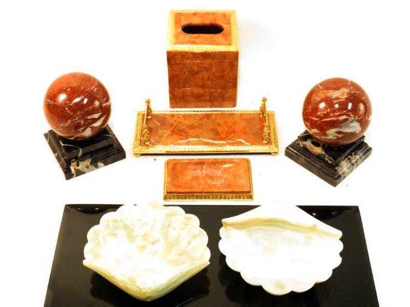 MARBLE & ONYX DECORATIVES ETC.