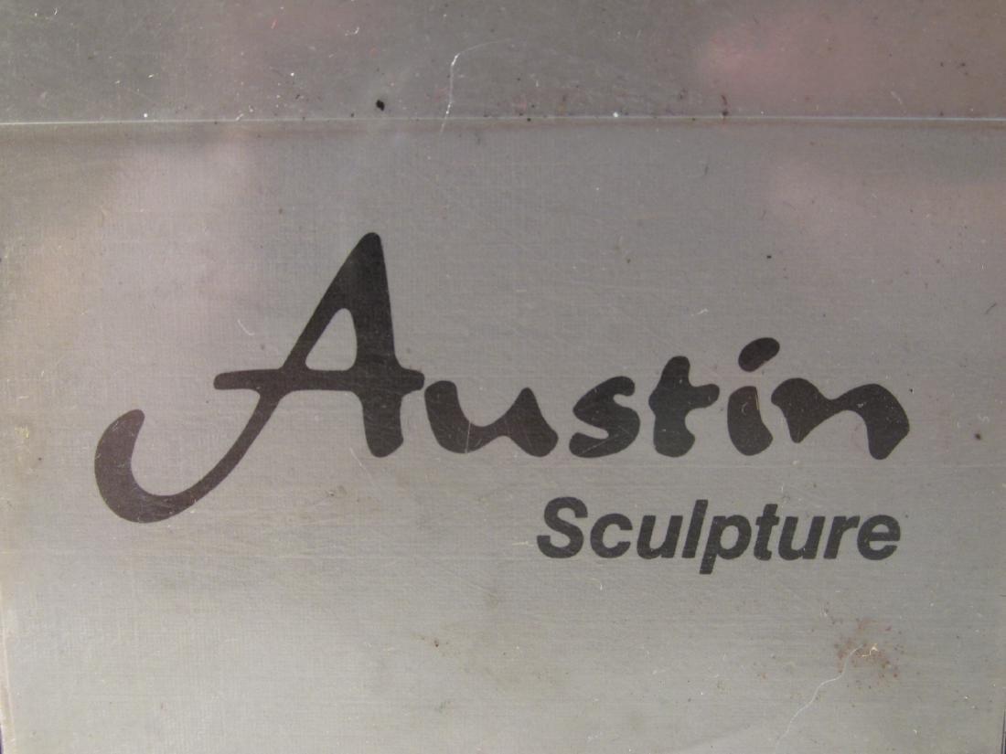 TWO AUSTIN PRODUCTIONS PLASTER SCULPTURES - 10