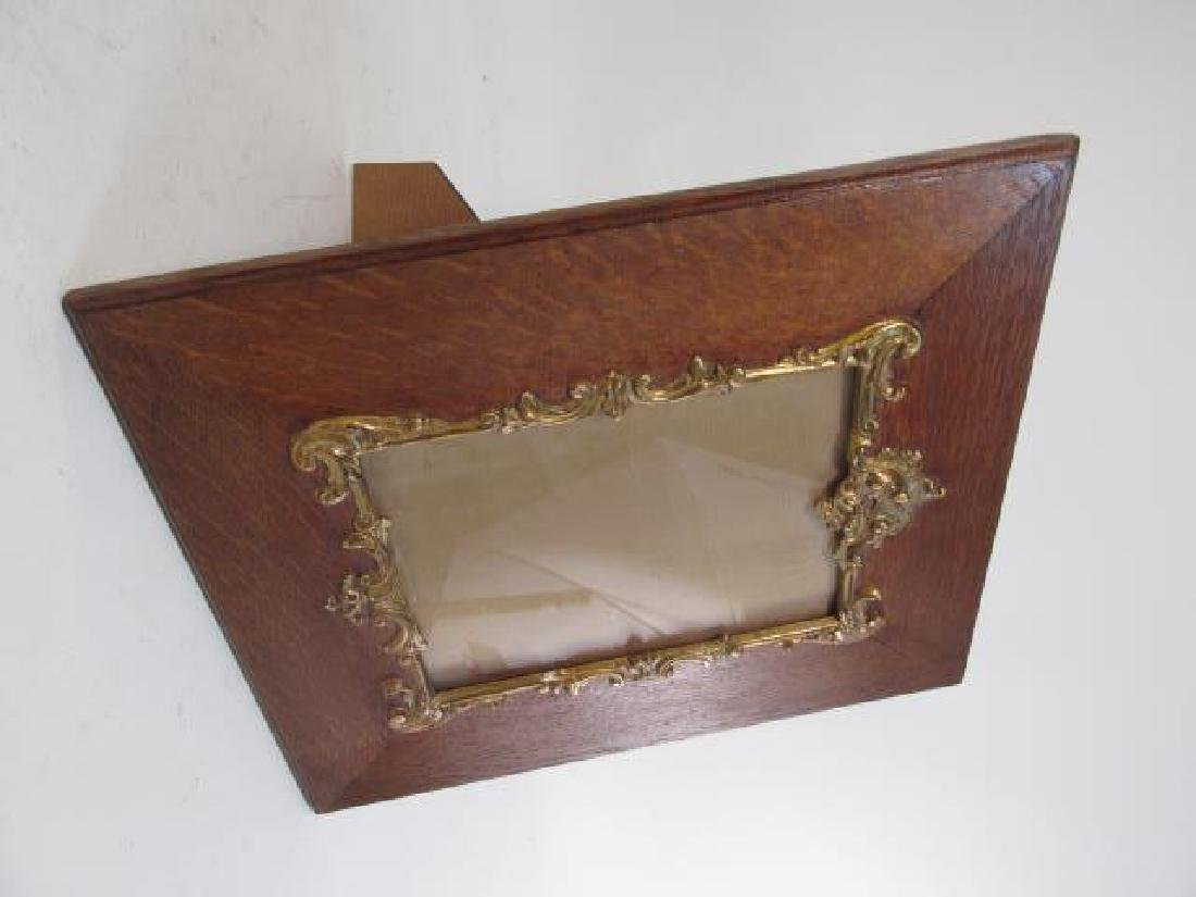 PAIR ENGLISH ENCINO WOOD PICTURE FRAMES - 2