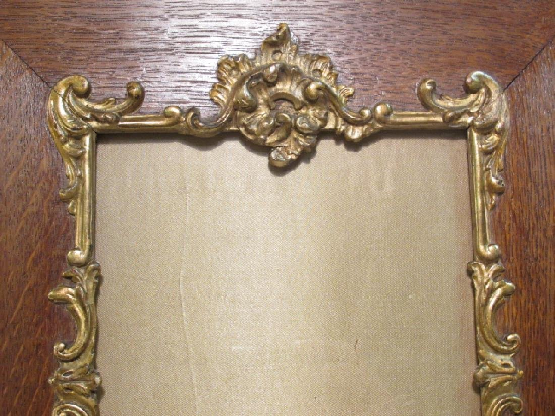 PAIR ENGLISH ENCINO WOOD PICTURE FRAMES - 3