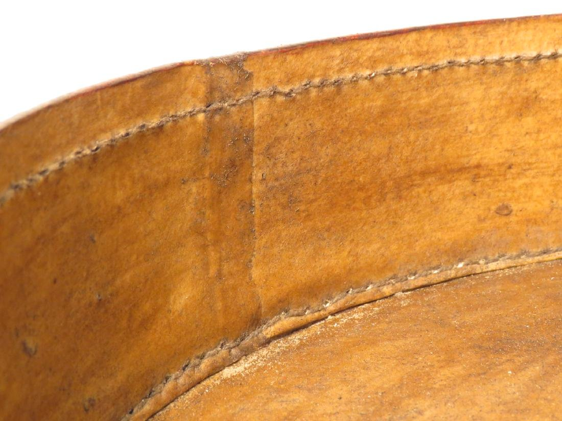CHINESE ROUND LACQUERED STACKING BOX - 6