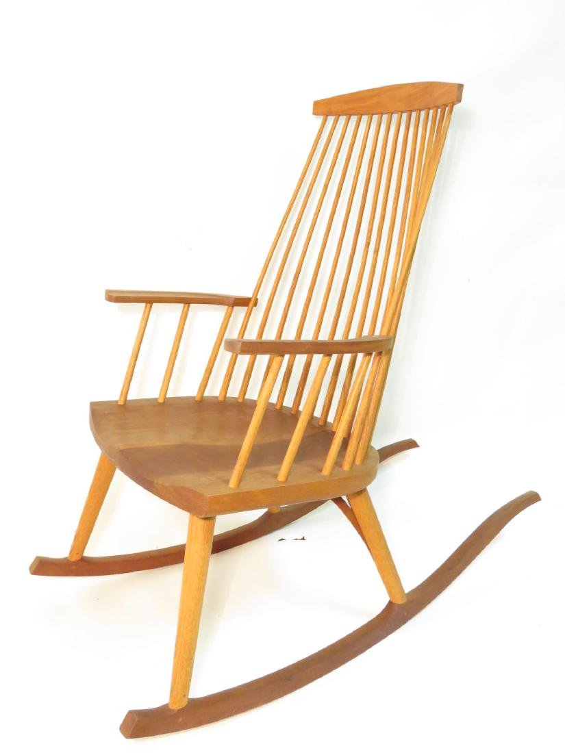 "THOMAS MOSER ""NEW GLOUCESTER"" ROCKING CHAIR"