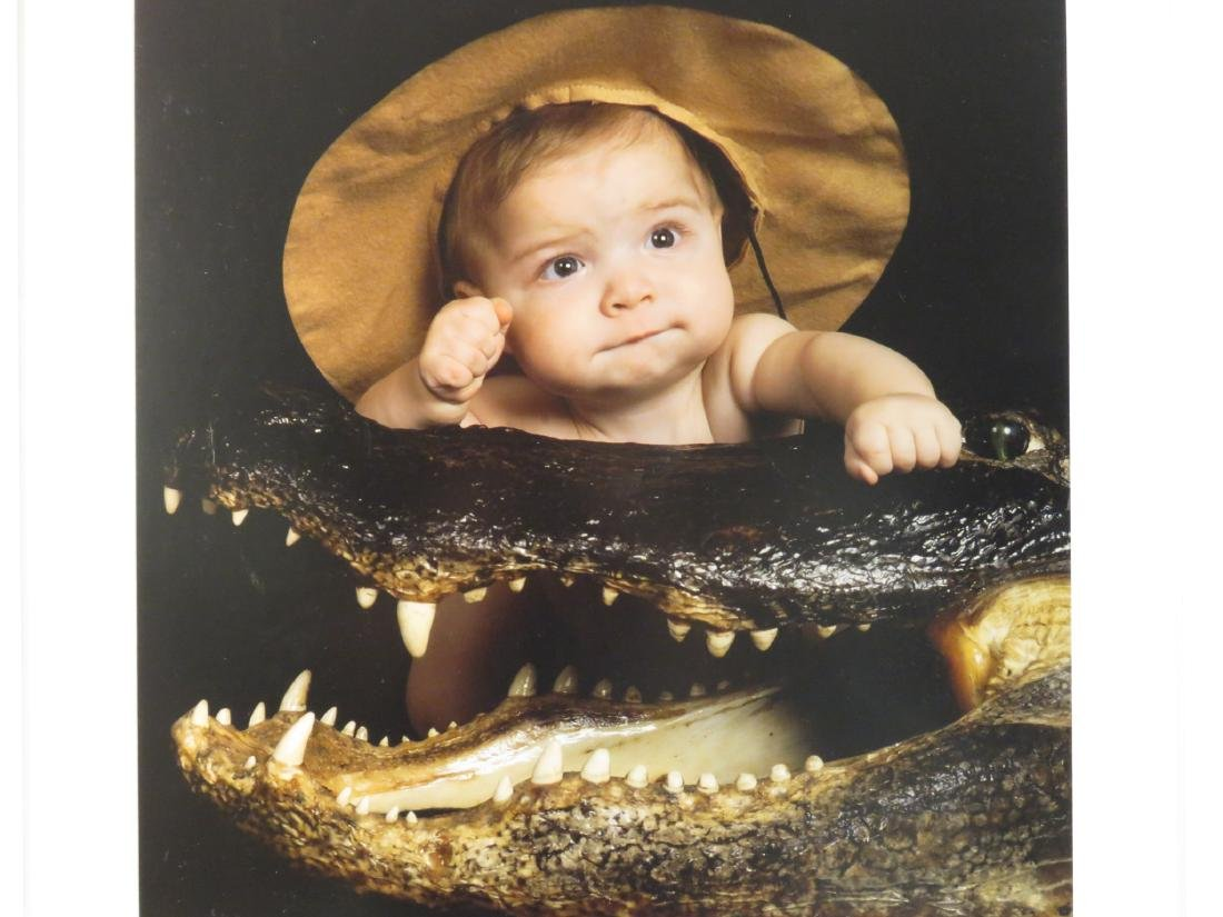 EIGHT ART PHOTOGRAPHS of BABIES FRAMED - 2