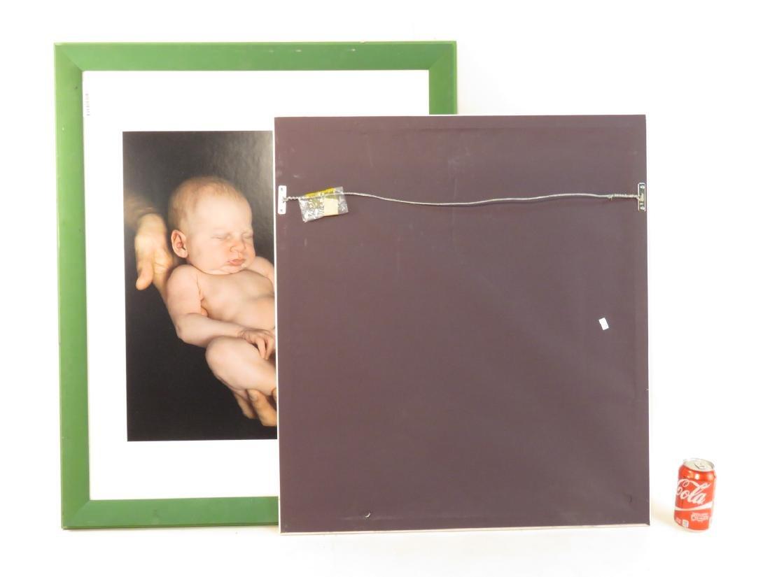 EIGHT ART PHOTOGRAPHS of BABIES FRAMED - 7