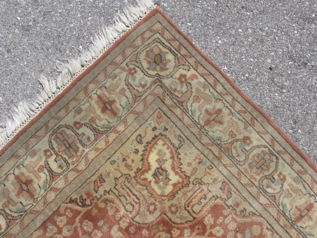 """PAK-PERSIAN HAND KNOTTED WOOL RUG 4' X 6'4"""" - 6"""
