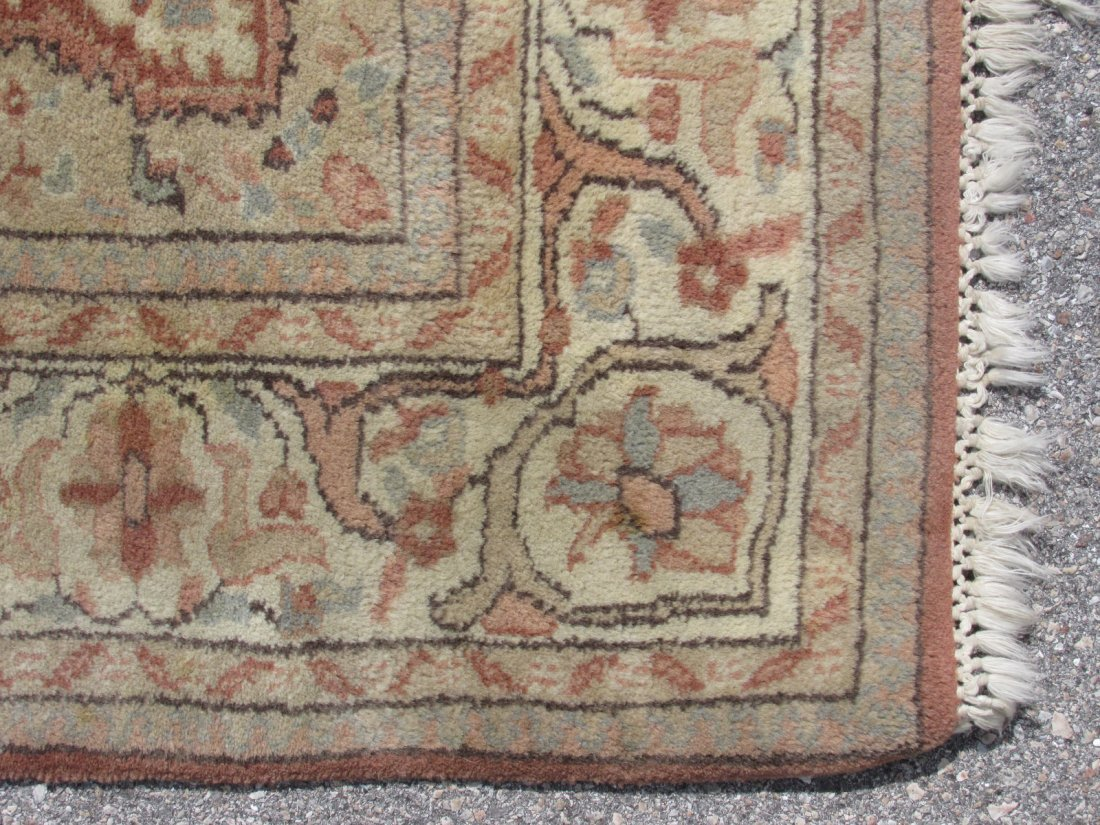 """PAK-PERSIAN HAND KNOTTED WOOL RUG 4' X 6'4"""" - 7"""