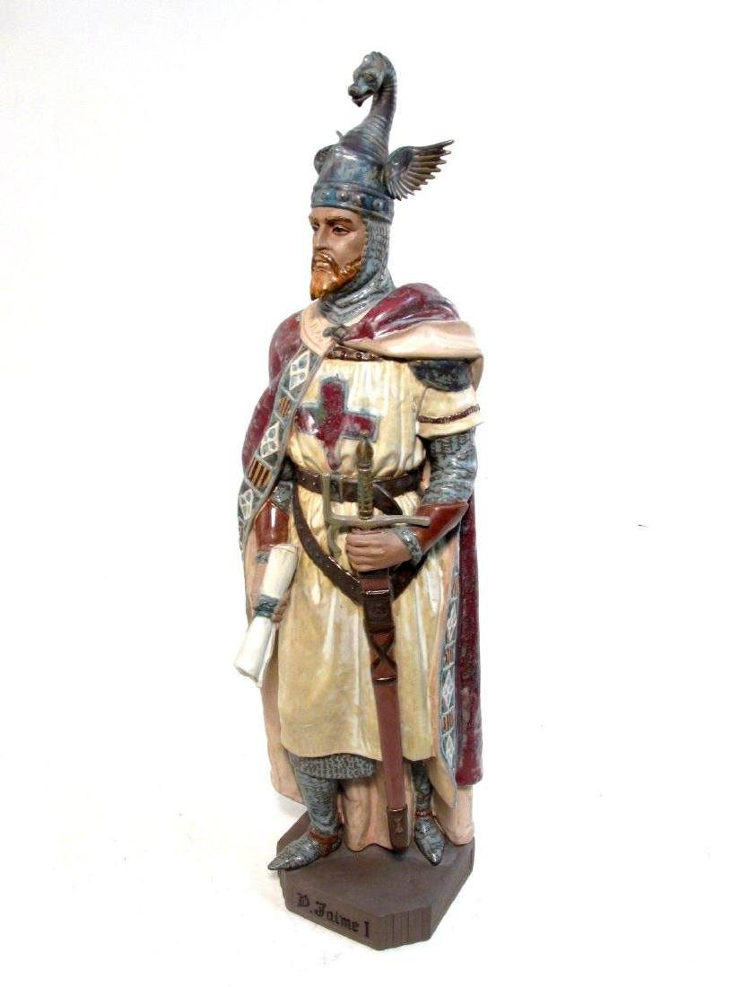 RARE LLADRO #2188 INVINCIBLE JAMES I THE CONQUISTA