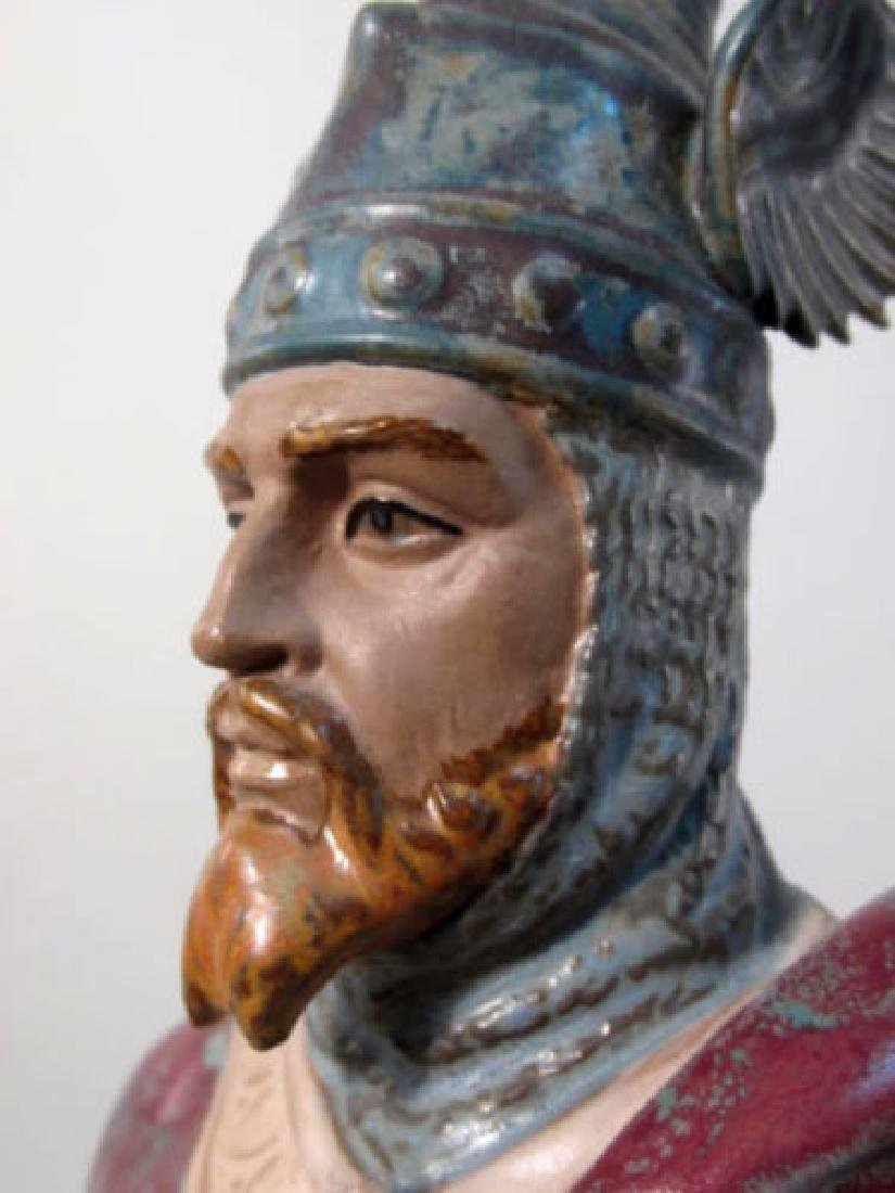 RARE LLADRO #2188 INVINCIBLE JAMES I THE CONQUISTA - 2