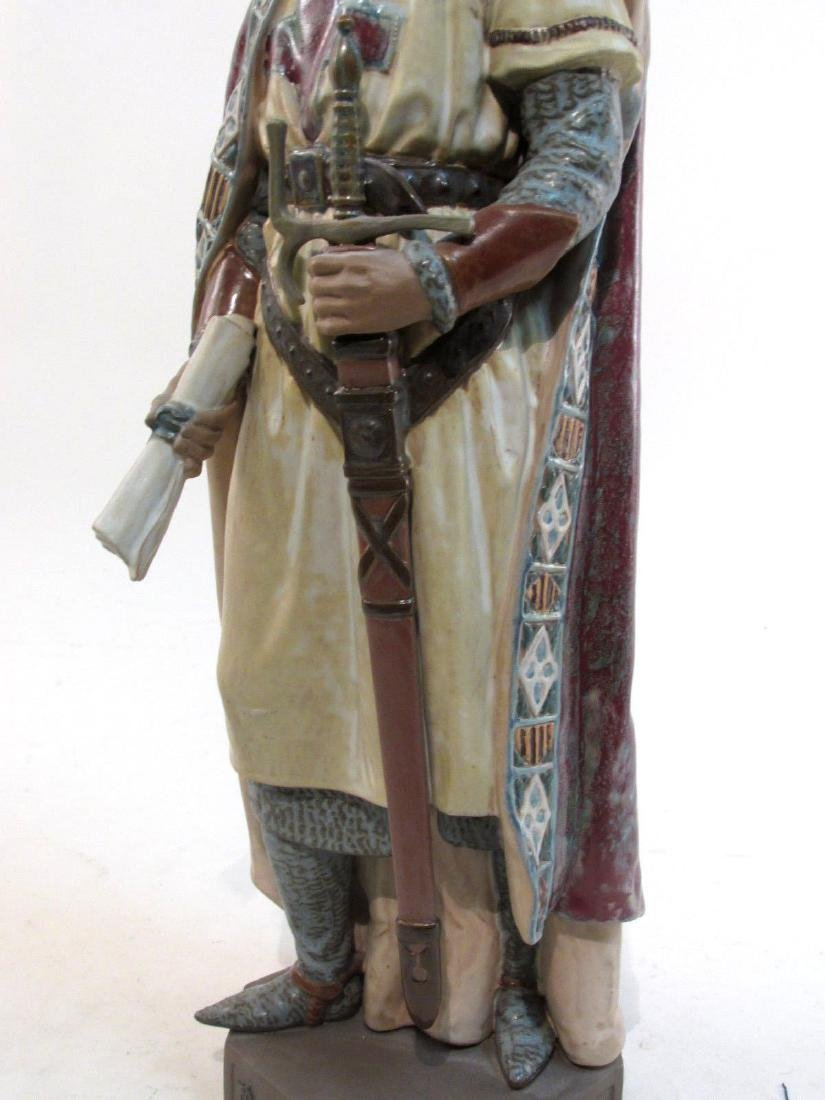 RARE LLADRO #2188 INVINCIBLE JAMES I THE CONQUISTA - 5