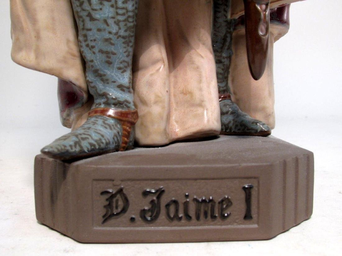 RARE LLADRO #2188 INVINCIBLE JAMES I THE CONQUISTA - 6