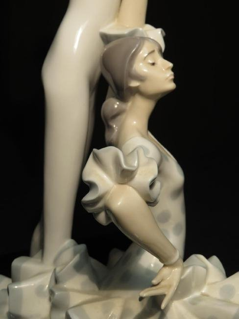 "LARGE LLADRO PORCELAIN FIGURINE ""FLAMENCO DANCERS"" - 4"