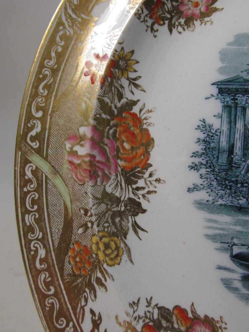 SIX RARE WEDGWOOD PORCELAIN PLATES: ARGENTA ETC. - 4