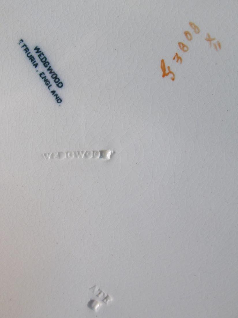 SIX RARE WEDGWOOD PORCELAIN PLATES: ARGENTA ETC. - 5