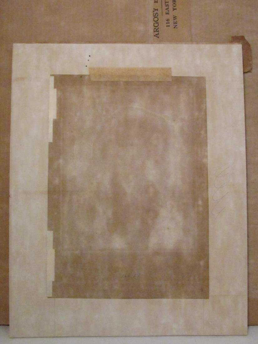 TWO ANTIQUE P.J. DESAULT INTAGLIO PRINTS: HAND COL - 9