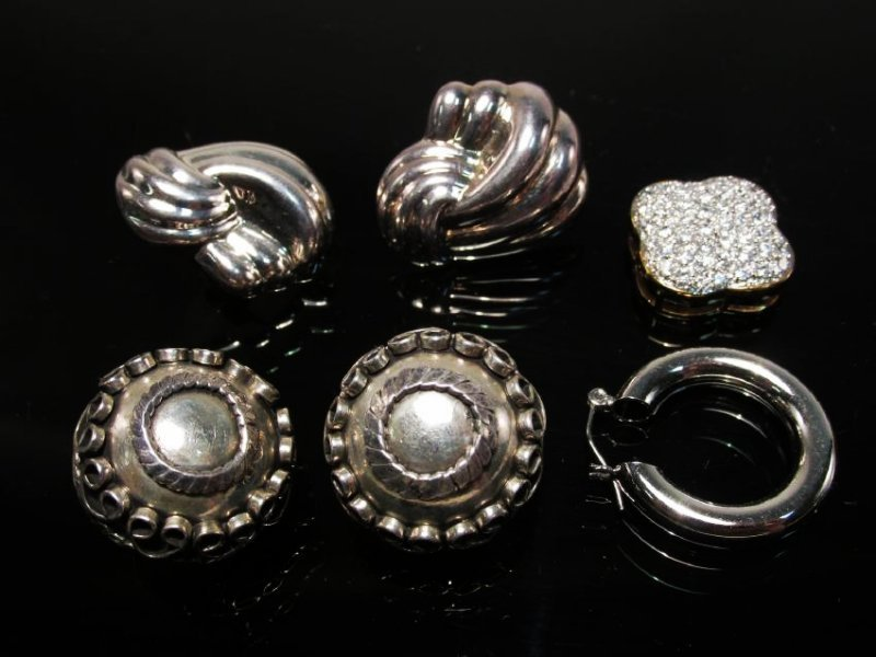 ASSORTED LADIES STERLING & VERMEIL JEWELRY - 3