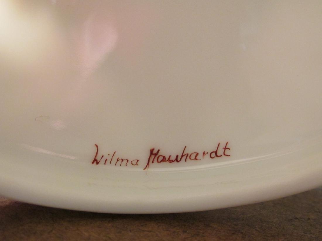 NINE PORCELAIN EGG BOXES: WILMA MANHARDT ETC - 10