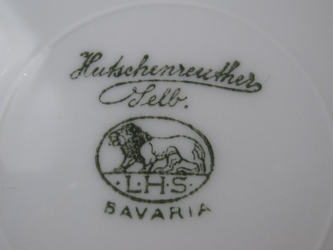 FLORAL DINNERWARE: HUTSCHENREUTHER ETC 125 PCS - 15