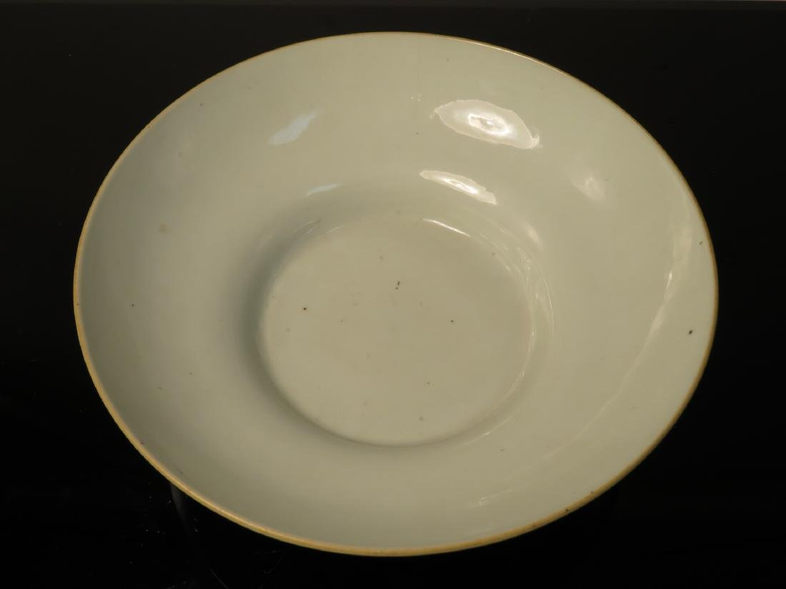 CHINESE EXPORT PORCELAIN BOWL QIANLONG REIGN MARK - 5