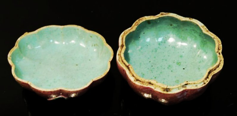 FOUR 19TH C CHINESE EXPORT TEMPLE FRUIT BOXES - 4