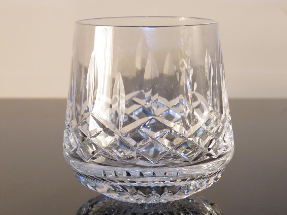 WATERFORD CRYSTAL SHIPS DECANTER BAR SET LISMORE - 2