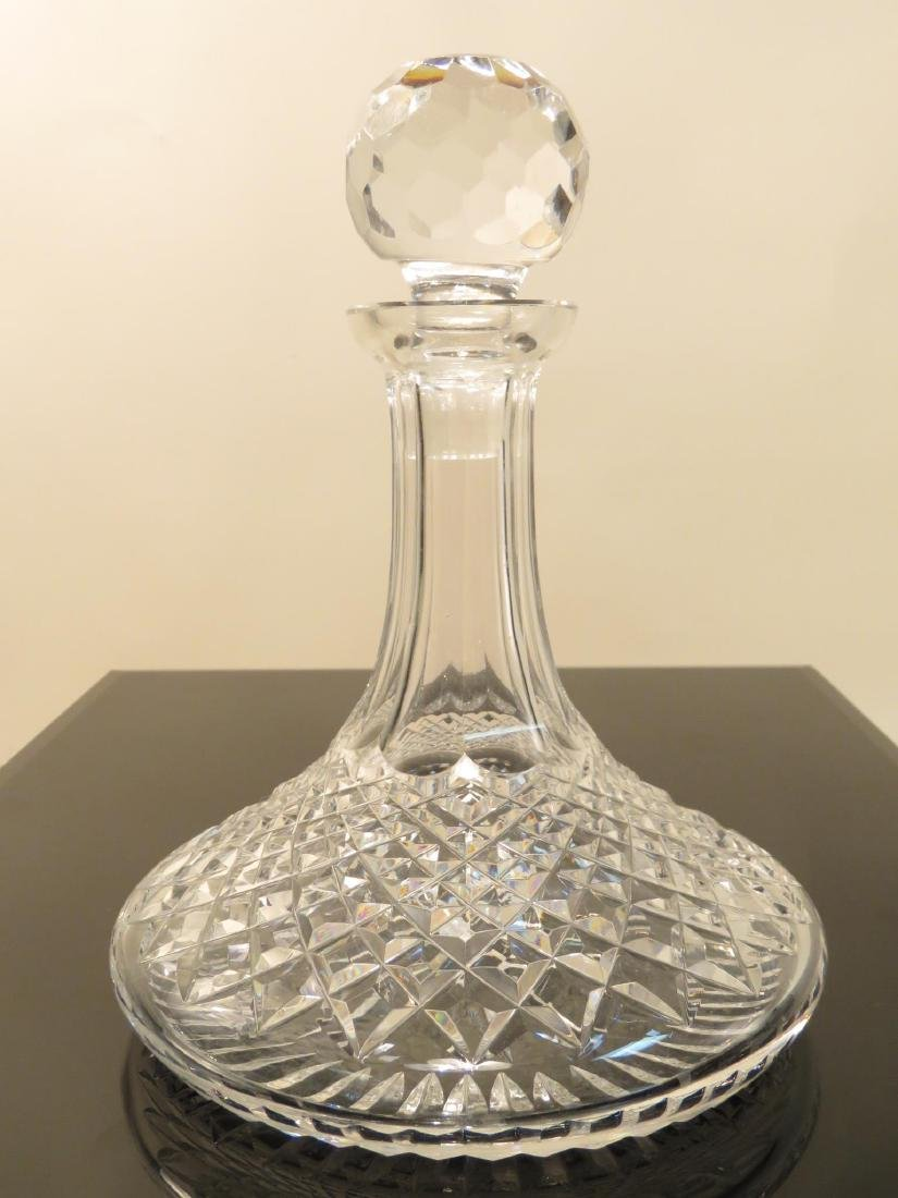 WATERFORD CRYSTAL SHIPS DECANTER BAR SET LISMORE - 3