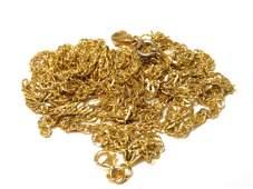 14K GOLD SCRAP 68 grams  DAMAGED NECKLACE