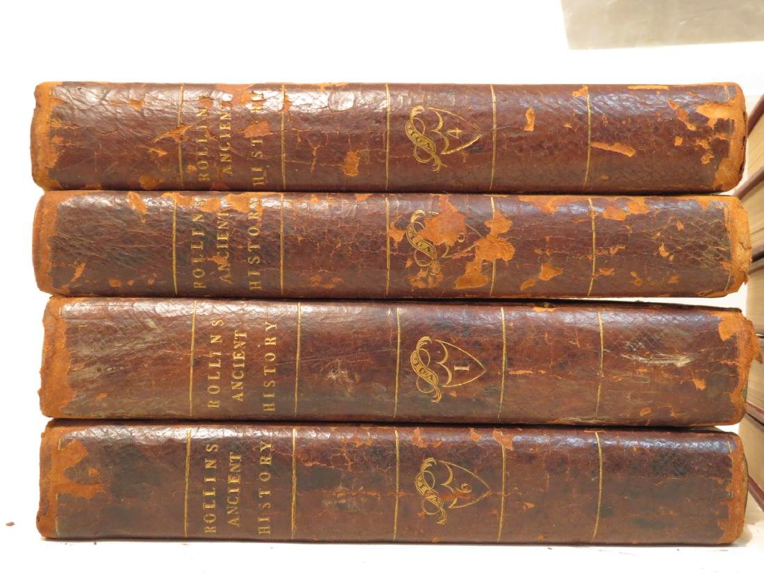 RARE BOOKS: ROLLINS ANCIENT HISTORY 1804, KIPLINGS - 2