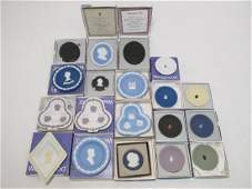 COLLECTION WEDGWOOD JASPERWARE CAMEO  DISHES