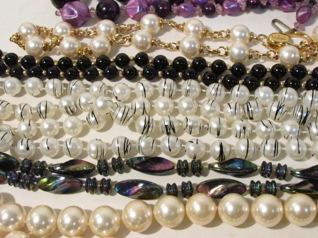 TRAY LOT LADIES COSTUME JEWELRY: NOLAN MILLER ETC. - 10