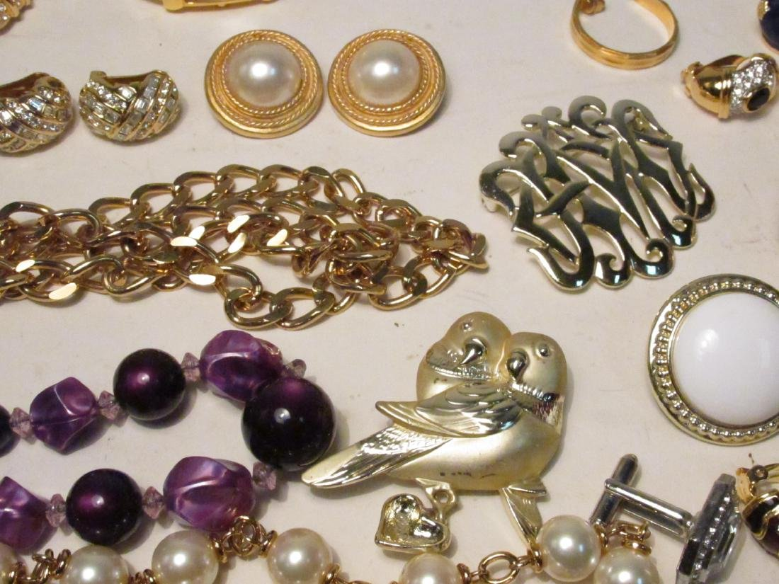TRAY LOT LADIES COSTUME JEWELRY: NOLAN MILLER ETC. - 7