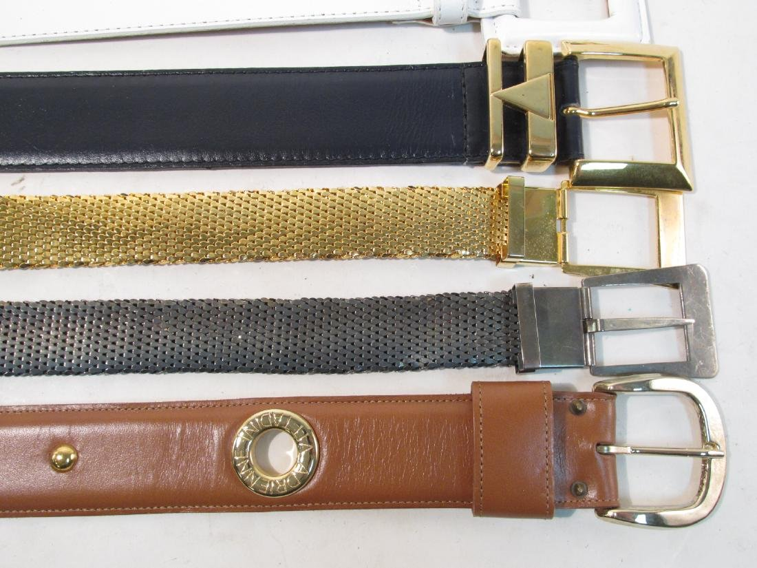 THIRTEEN ASSORTED LADIES BELTS: PICASSO, VITTADINI - 2