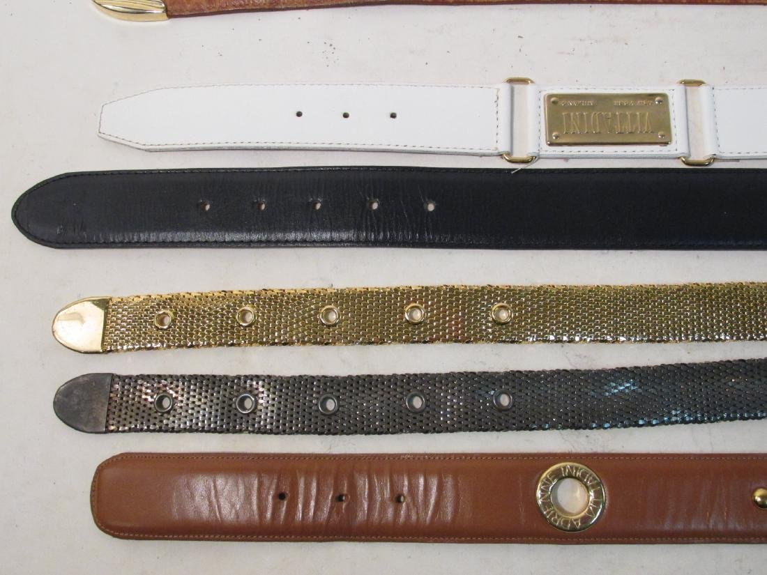 THIRTEEN ASSORTED LADIES BELTS: PICASSO, VITTADINI - 3
