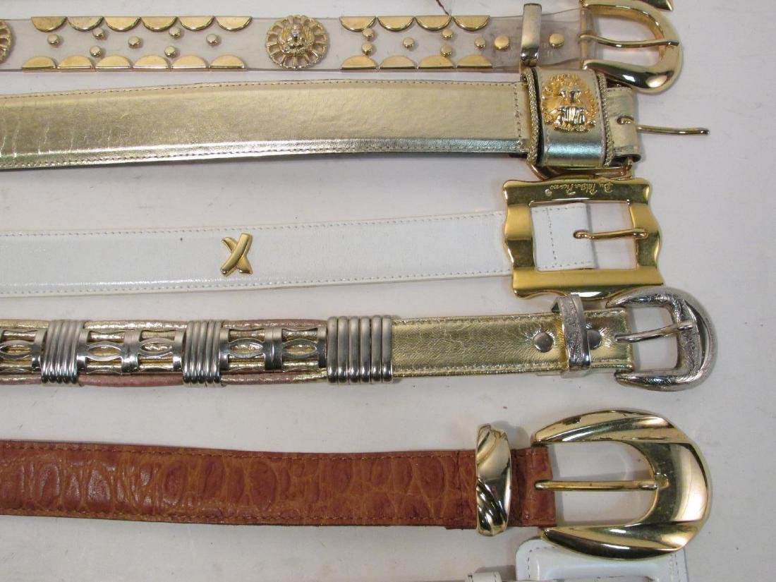 THIRTEEN ASSORTED LADIES BELTS: PICASSO, VITTADINI - 4