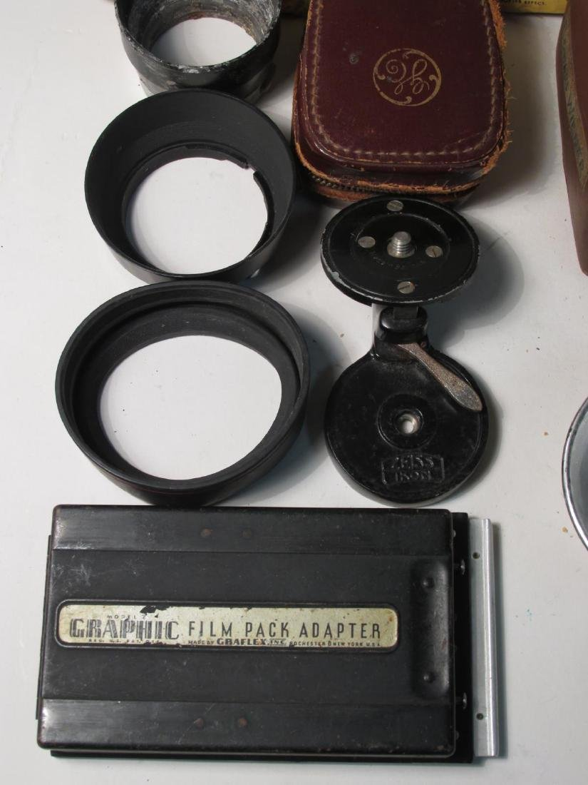 ASSORTED VINTAGE CAMERA GEAR & ACCESSORIES - 5