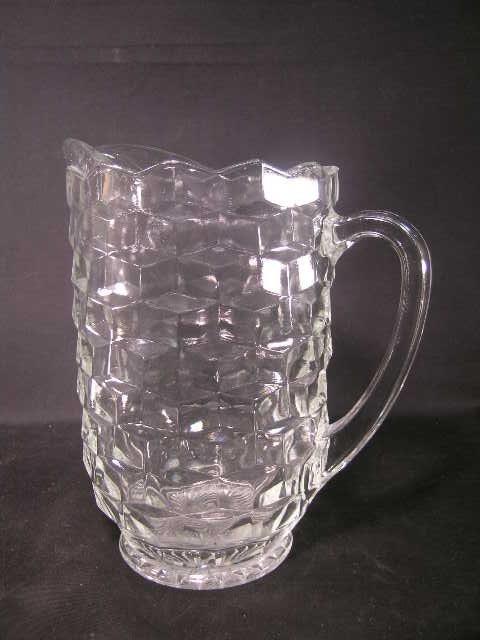 10: AMERICAN FOSTORIA WATER PITCHER