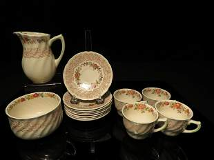 SMALL GROUP ROYAL DOULTON RHAPSODY DINNERWARE