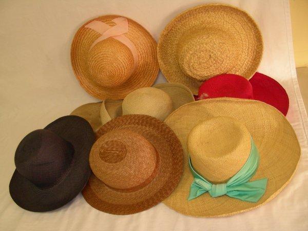 5: GROUP LADIES HATS HAWES ANN VUILLE ERIC JAVITZ