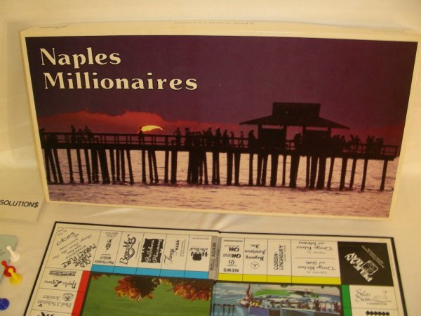 96: NAPLES MILLIONAIRES BOARD GAME - 2