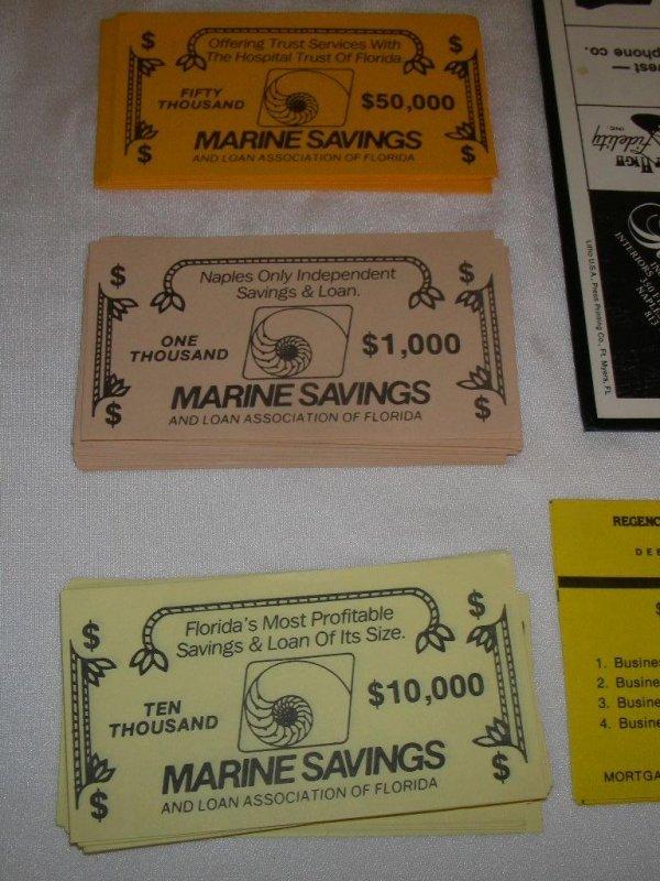 96: NAPLES MILLIONAIRES BOARD GAME - 5