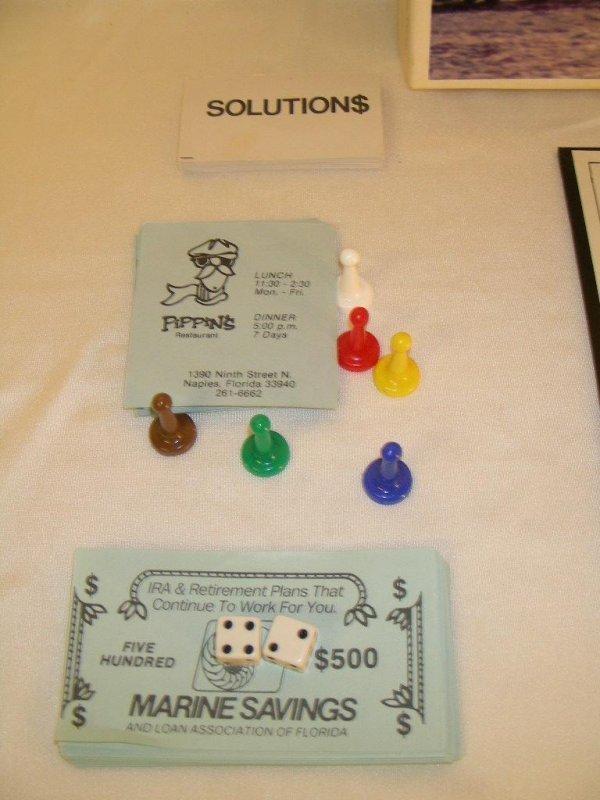96: NAPLES MILLIONAIRES BOARD GAME - 9