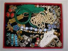 688 MIRIAM HASKELL  OTHER VINTAGE COSTUME JEWELRY