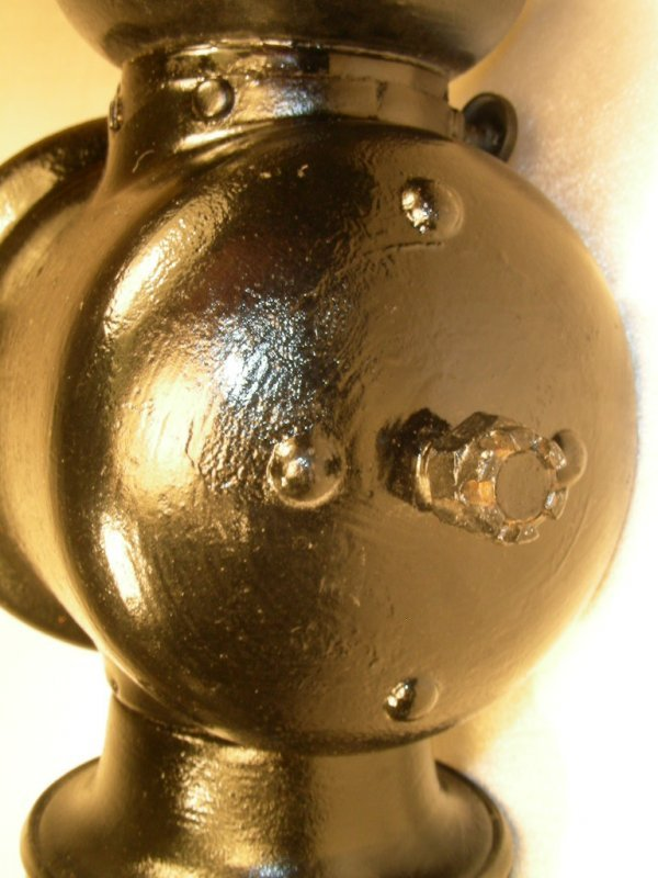 303: ORIGINAL FORD MODEL T OIL LAMP HEADLIGHTS - 6