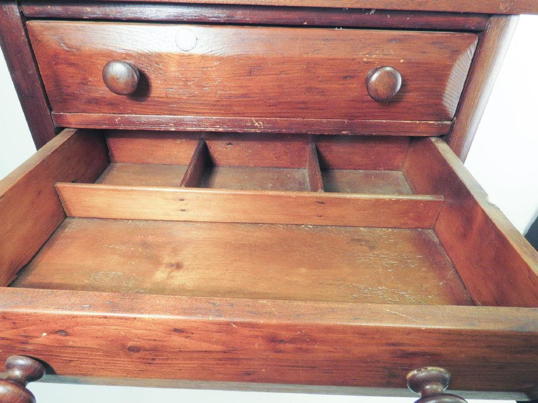EARLY 19TH C TWO DRAWER STAND - 4