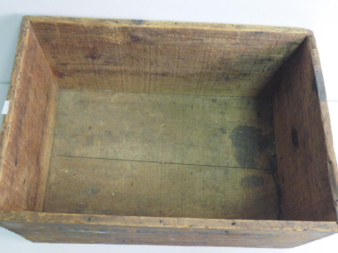 WOODEN CRATE - ATLAS POWDER CO. U.S.A - 3