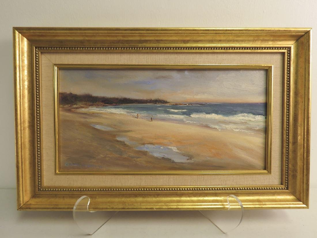 MARTHA GUILLETTE ORIGINAL OIL ON BOARD PAINTING