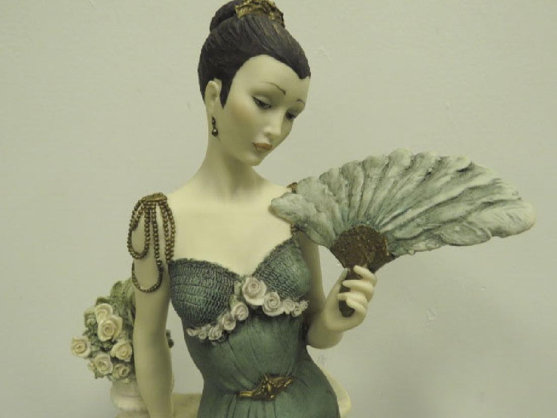 TWO GIUSEPPE ARMANI FLAPPER FIGURINES - 2