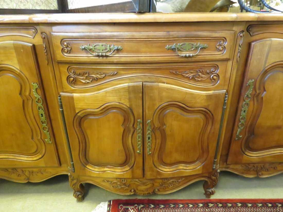 ANTIQUE ENGLISH SIDEBOARD - 4