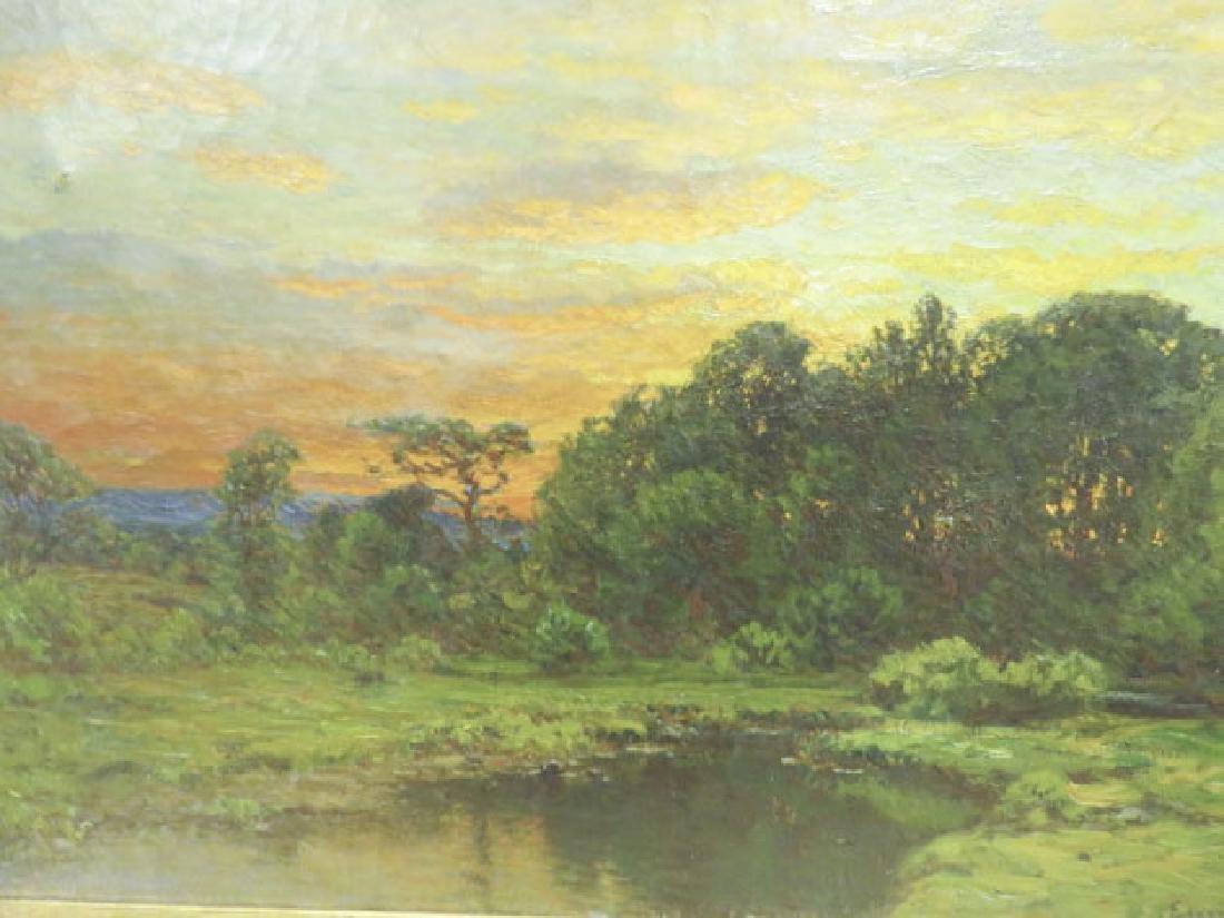 JOHN JOSEPH ENNEKING OIL ON CANVAS SUNSET - 4