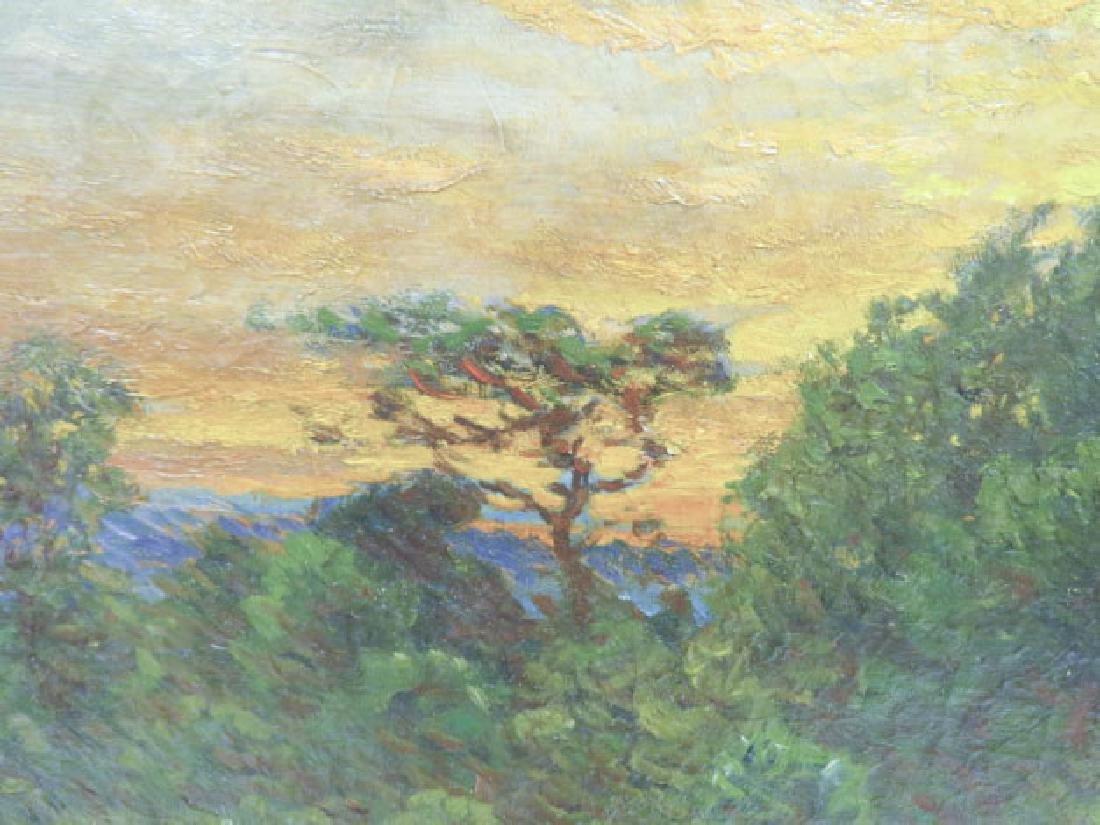 JOHN JOSEPH ENNEKING OIL ON CANVAS SUNSET - 5
